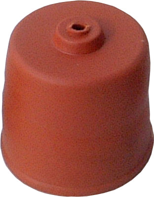 Carboy rubber cap with hole (50mm) - Brew2Bottle Home Brew