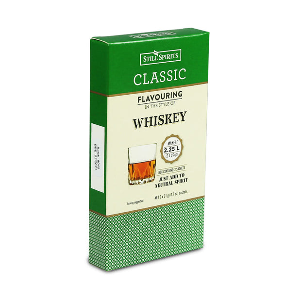 Still Spirits 2.25 Litre Twin Sachet Classic Flavouring - Whiskey - Brew2Bottle Home Brew