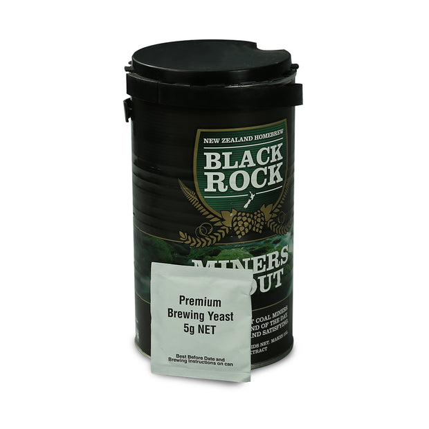 Black Rock 40 Pint Beer Kit - Miners Stout - Brew2Bottle Home Brew