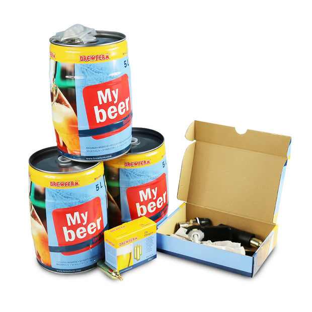 Brewferm Mini Keg Starter Kit with Party Star Deluxe - Brew2Bottle Home Brew