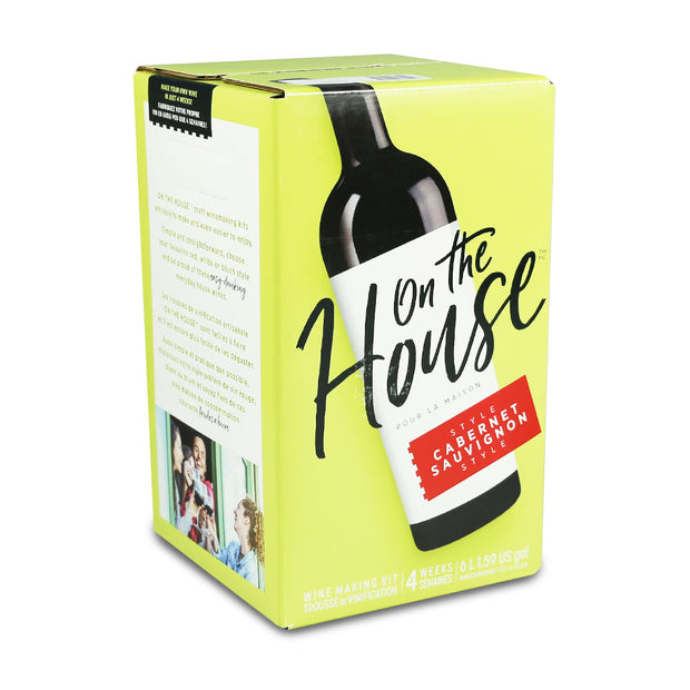 On The House 30 Bottle Cabernet Sauvignon - Brew2Bottle Home Brew