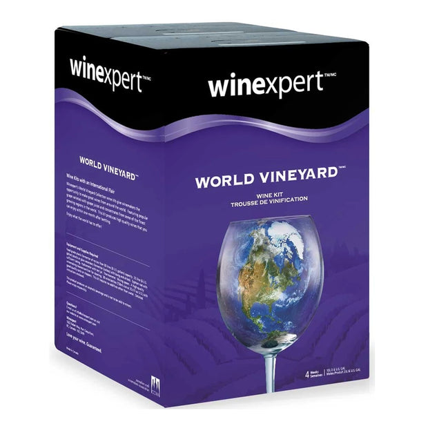Winexpert World Vineyard 30 Bottle Red Wine Kit - French Cabernet Sauvignon - Brew2Bottle Home Brew