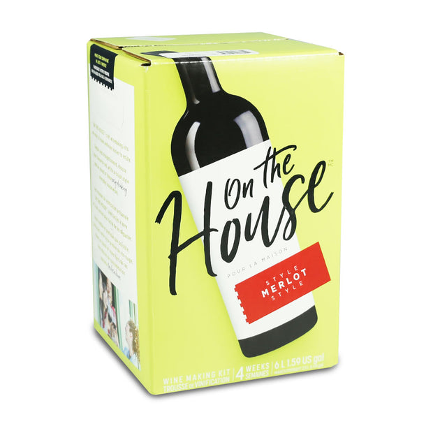 On The House 30 Bottle Merlot - Brew2Bottle Home Brew