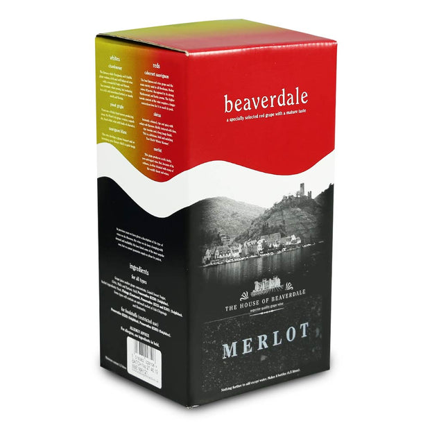 Beaverdale 4.5l 6 Bottle Wine Kit - Merlot - Brew2Bottle Home Brew