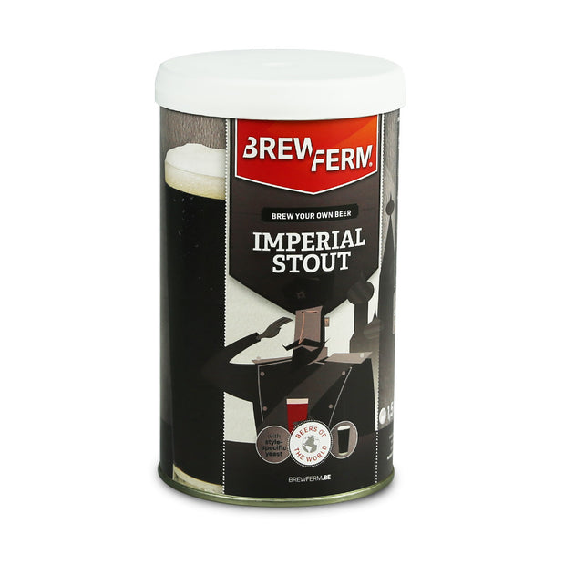Brewferm Imperial Stout 16 Pint Beer Kit - Brew2Bottle Home Brew