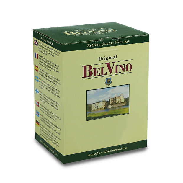 BelVino 30 Bottle Dried Fruit Hedgerow Wine Making Kit - Classic Red - Brew2Bottle