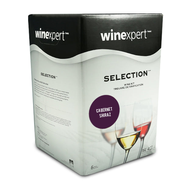 Winexpert Selection International - Australian Cabernet Shiraz - Brew2Bottle Home Brew