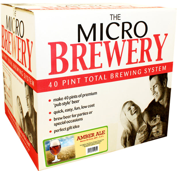 Young's Micro Brewery Ultimate Starter Kit - American Amber Ale