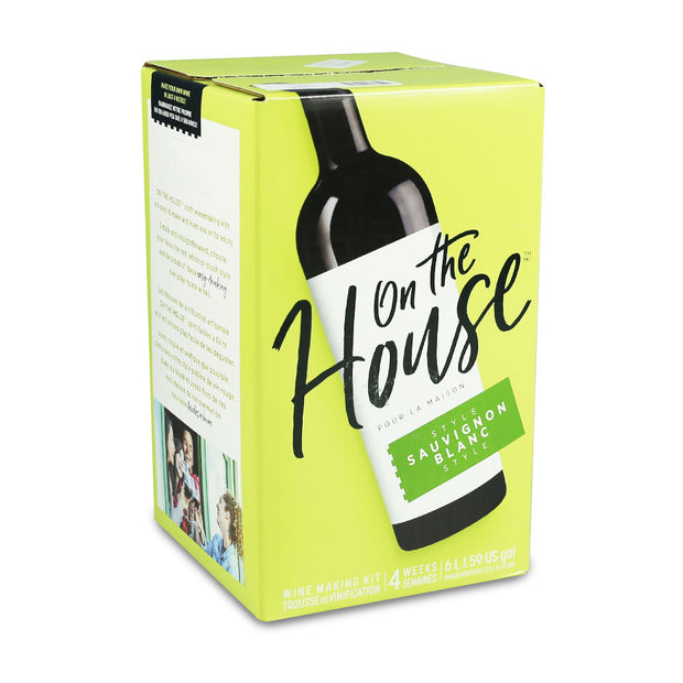 On The House 30 Bottle Sauvignon Blanc - Brew2Bottle Home Brew