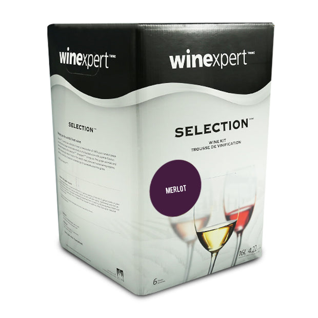 Winexpert Selection International - French Merlot - Brew2Bottle Home Brew