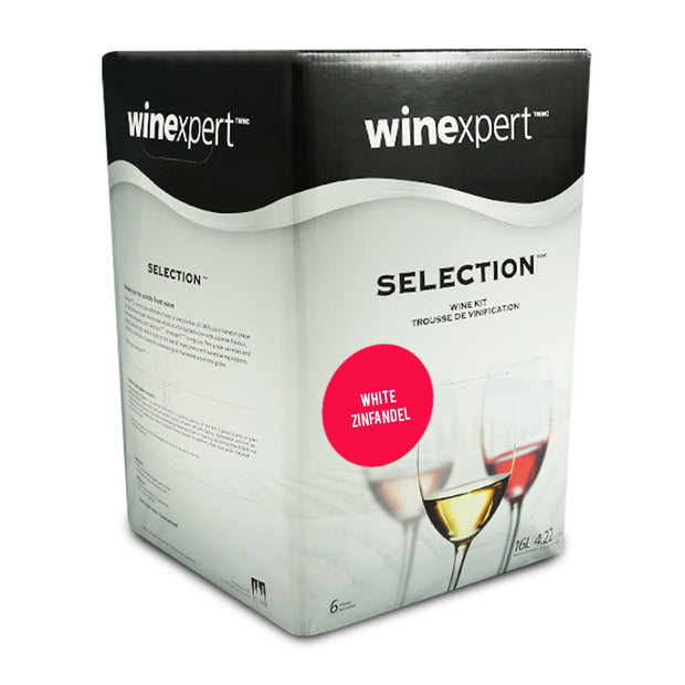 Winexpert Selection International - Californian White Zinfandel - Brew2Bottle Home Brew