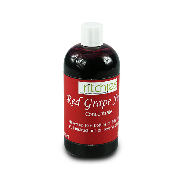 Ritchies 100% Red Grape Concentrate 500ml - Brew2Bottle Home Brew