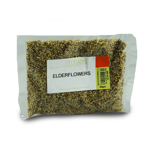Ritchies Dried Elderflowers - 50g