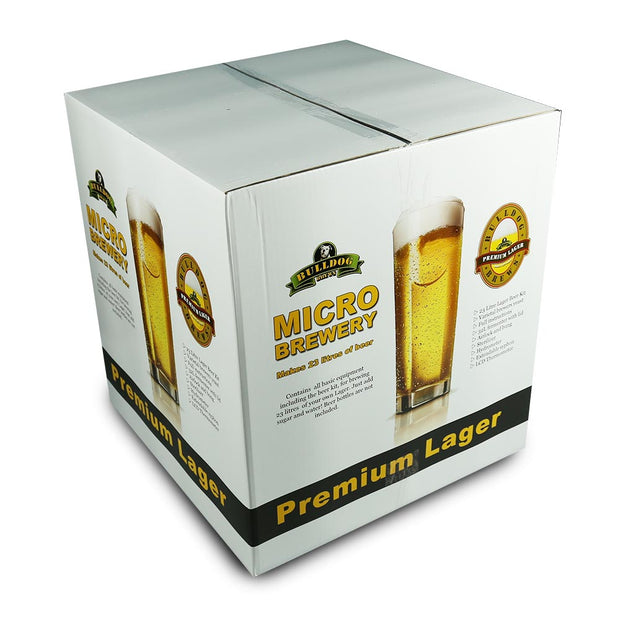 Bulldog Micro Brewery - Lager - Starter Equipment and Beer Kit - Brew2Bottle
