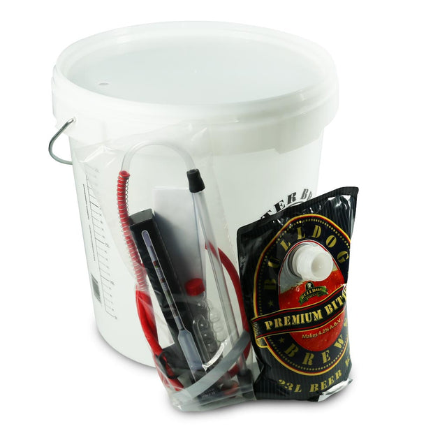 Bulldog Micro Brewery - Bitter - Starter Equipment and Beer Kit - Brew2Bottle Home Brew