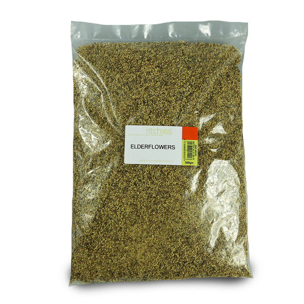 Ritchies Dried Elderflowers - 500g - Brew2Bottle Home Brew