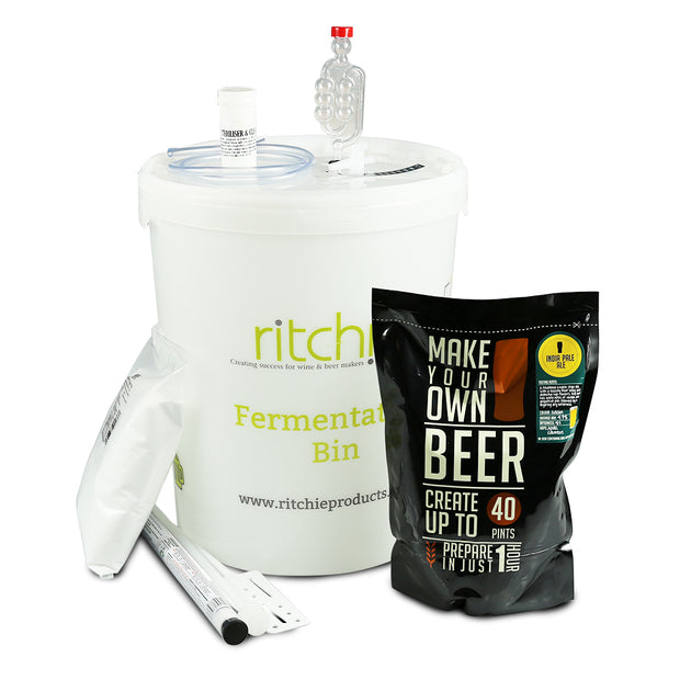Make Your Own 40 Pint IPA Beer Starter Kit - Brew2Bottle Home Brew