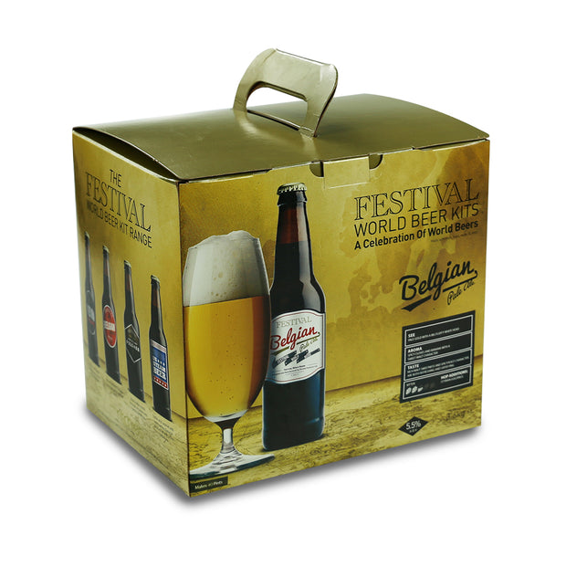 Festival 40 Pint Home Brew Beer Kit - Belgian Pale Ale - Brew2Bottle Home Brew