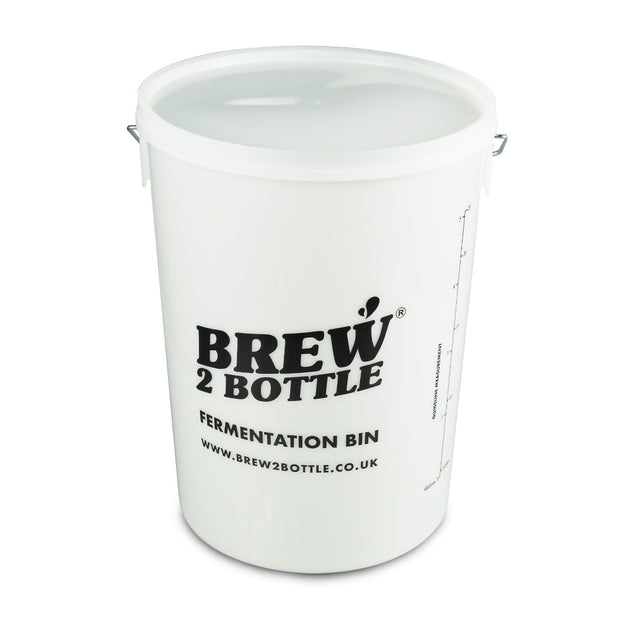 Brew2Bottle 25ltr Bucket & Plain Lid - Brew2Bottle Home Brew