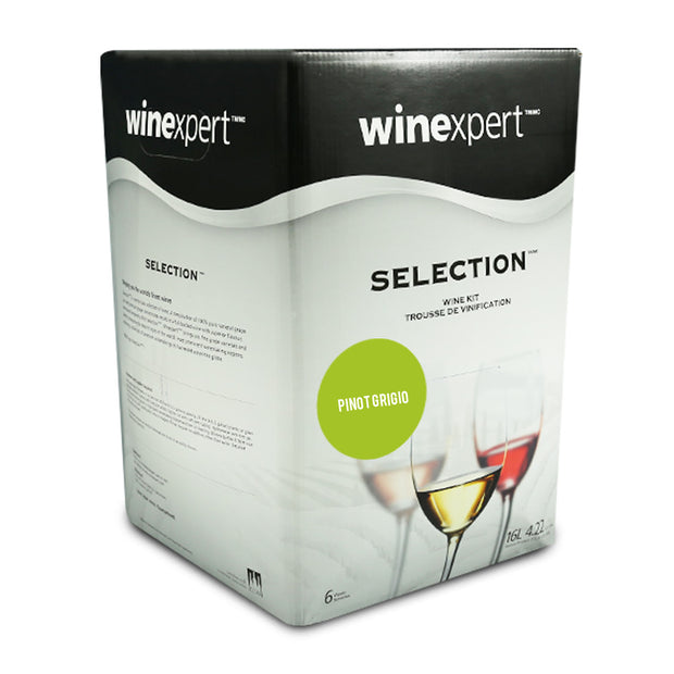 Winexpert Selection International - Italian Pinot Grigio - Brew2Bottle Home Brew