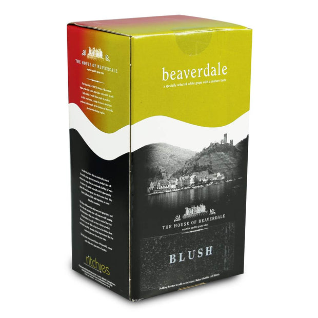 Beaverdale 4.5l 6 Bottle Rosé Wine Kit - Blush - Brew2Bottle Home Brew