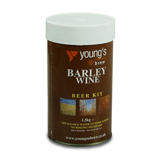 Youngs Harvest 24 Pint Beer Kit - Barley Wine - Brew2Bottle Home Brew