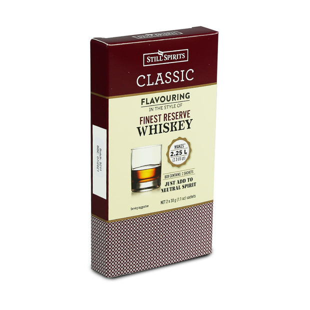 Still Spirits 2.25 Litre Twin Sachet Classic Flavouring - Finest Reserve Scotch Whisky - Brew2Bottle Home Brew