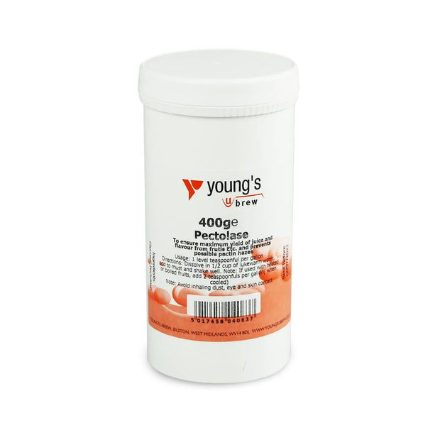 Young's Pectolase Powder 400g - Brew2Bottle Home Brew
