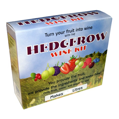 Home Brew Hedgerow Wine Making Kits - 4.5L/6 Bottle