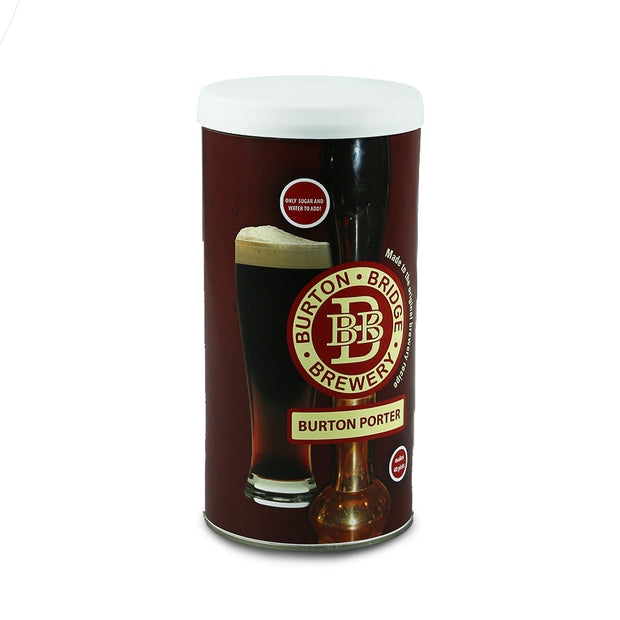Burton Bridge 4.5% ABV Burton Porter - 40 Pint Beer Kit - Brew2Bottle Home Brew