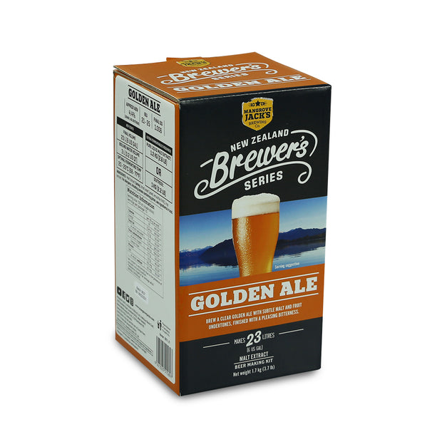 Mangrove Jacks Brewers Series 40 Pint Golden Ale - Brew2Bottle Home Brew