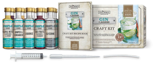 Still Spirits Gin Profile Craft Starter Kit - Brew2Bottle Home Brew