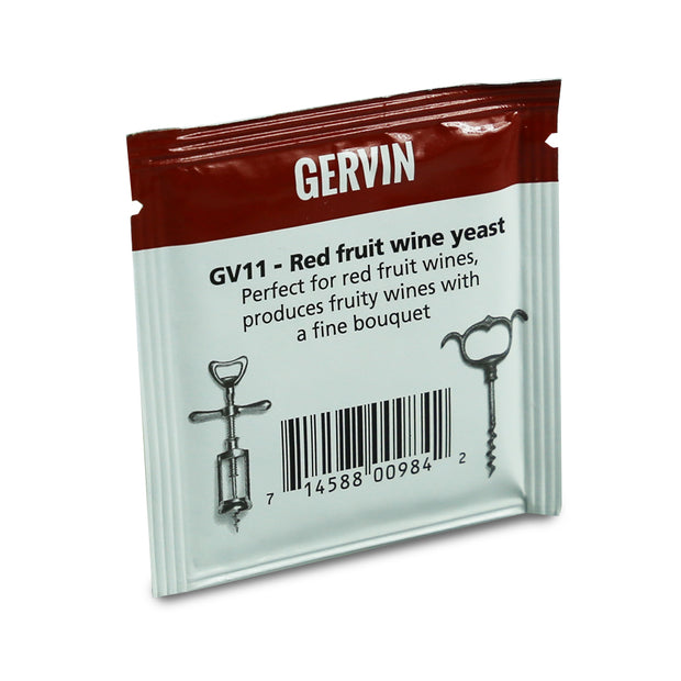 Gervin Yeast GV11 - Red Fruit - Brew2Bottle Home Brew