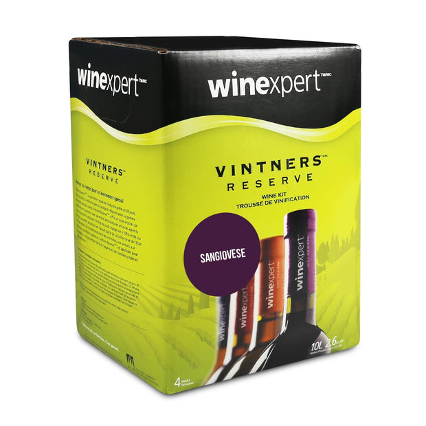 Winexpert Vintners Reserve 30 Bottle Red Wine Kit - Sangiovese - Brew2Bottle Home Brew