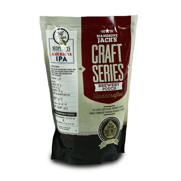 Mangrove Jacks Craft Series 40 Pints American IPA with Dry Hops - Brew2Bottle Home Brew