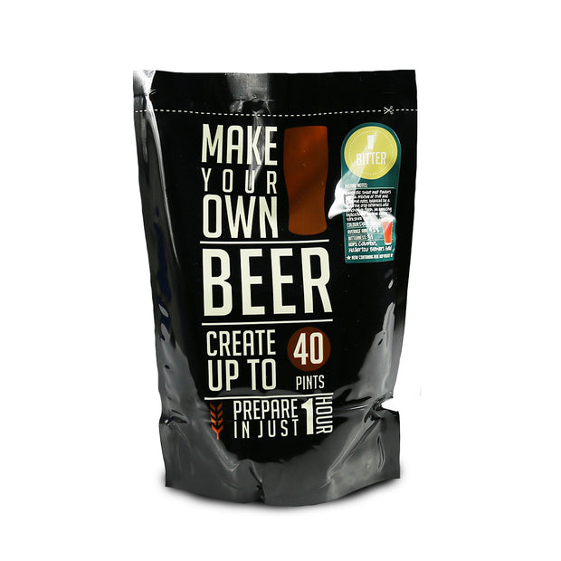 Make Your Own 40 Pint Yorkshire Bitter Beer Kit - Brew2Bottle Home Brew