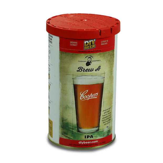 Coopers 36/40 Pint Beer Kit - Brew A. IPA - Brew2Bottle Home Brew