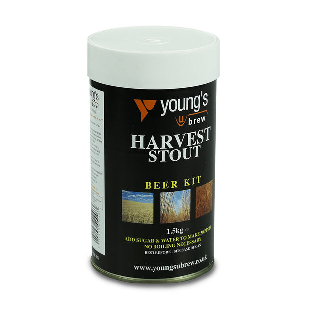 Youngs Harvest 40 Pint Beer Kit - Stout