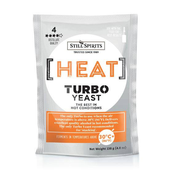 Still Spirits Heat Turbo Yeast (138g) - Brew2Bottle Home Brew