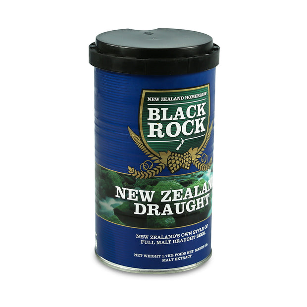 Black Rock 40 Pint Beer Kit - New Zealand Draught - Brew2Bottle Home Brew