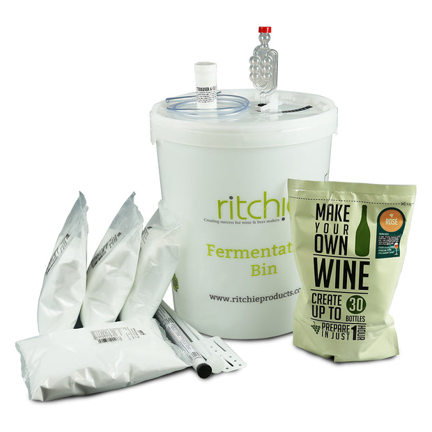 Make Your Own 30 Bottle Rose Wine Starter Kit - Brew2Bottle Home Brew