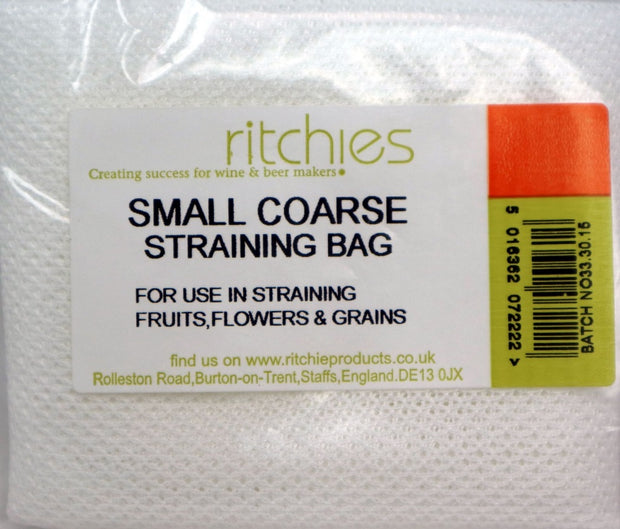Small Straining Bag - Course - Brew2Bottle Home Brew