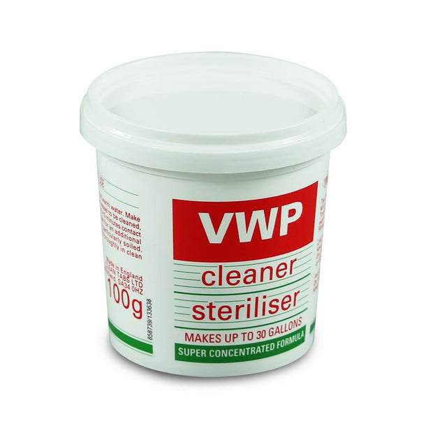 VWP Steriliser 100g - Brew2Bottle Home Brew