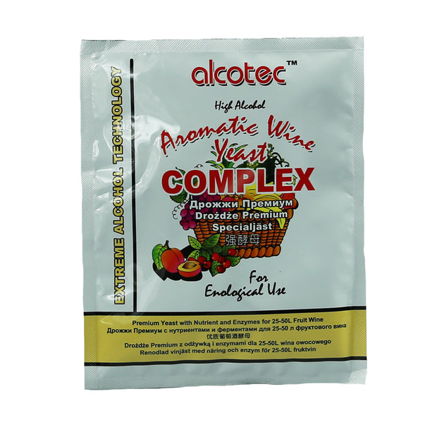 Alcotec Aromatic Wine Yeast Complex - Brew2Bottle Home Brew