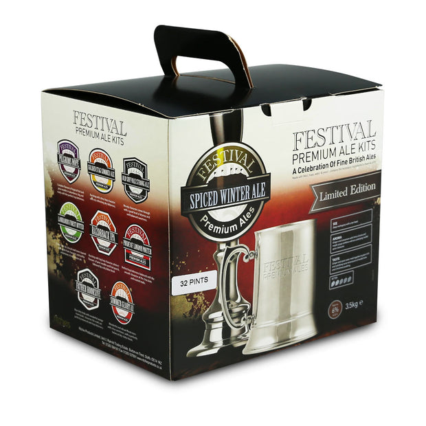 Festival 32 Pint Beer Kit - Spiced Winter Ale - Brew2Bottle Home Brew