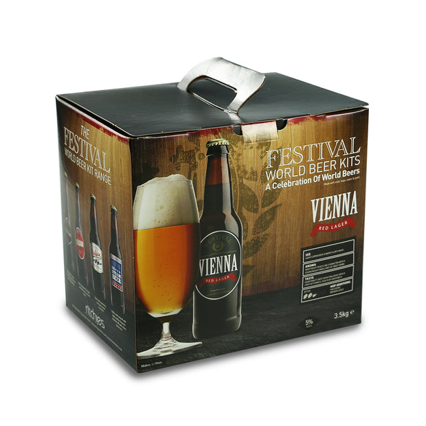 Festival 40 Pint Home Brew Beer Kit - Vienna Red Lager - Brew2Bottle Home Brew
