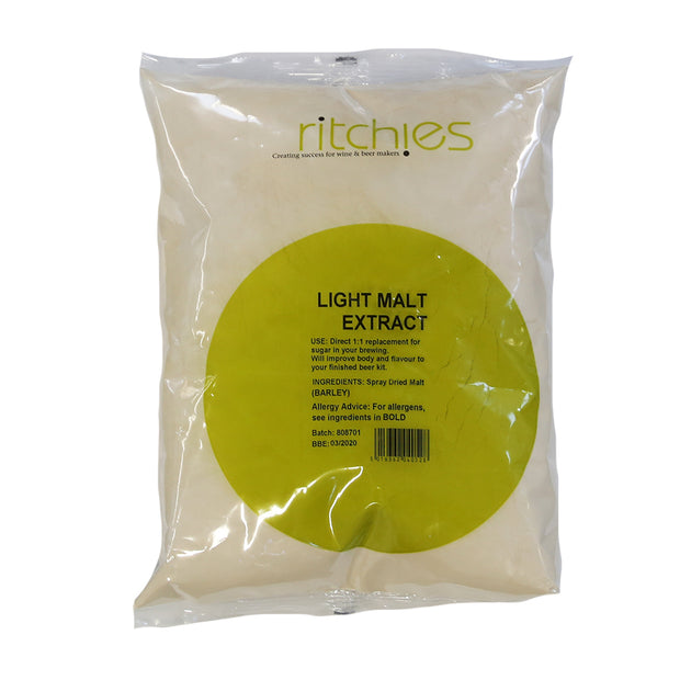 Ritchies Light Spray Malt 1kg - Brew2Bottle Home Brew