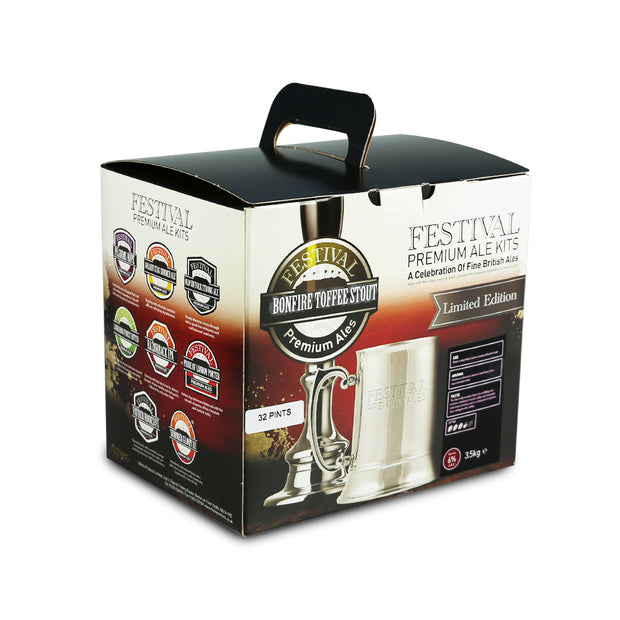 Festival 32 Pint Beer Kit - Bonfire Toffee Stout - Brew2Bottle Home Brew