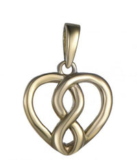 Argento Cuore Sterling 925 Argento Collana HPZ20B1A