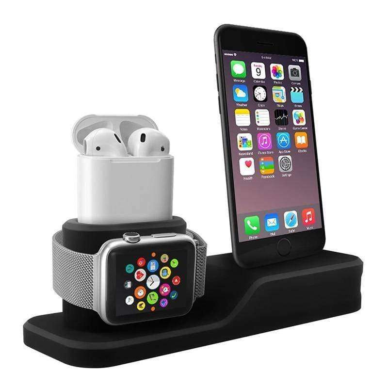 3 in 1 Charging Dock Holder, Wireless charger design, designed for charging dock - HypeLooks